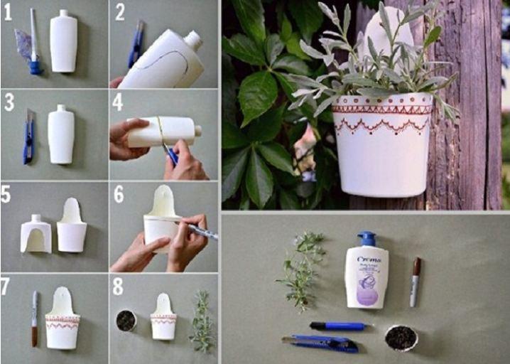 Cách tái chế chai nhựa phế liệu thành lọ hoa cực xinh