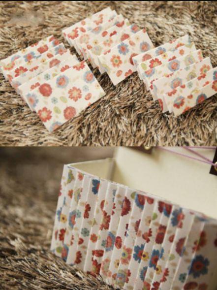 Túi đựng đồ từ giấy phế liệu bước 4