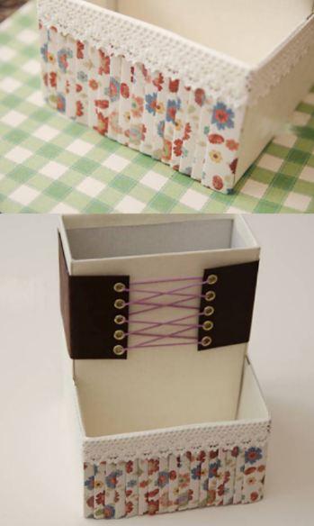 Túi đựng đồ từ giấy phế liệu bước 5