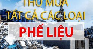 Thu mua phế liệu giá cao TPHCM và toàn quốc