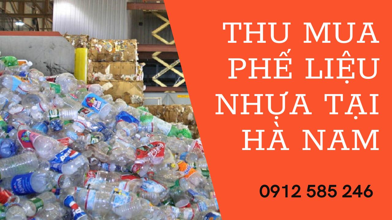 Thu mua phế liệu nhựa tại Hà Nam
