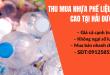 Thu Mua Nhựa Phế Liệu Giá Cao ở Hải Dương