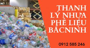 Thu mua thanh lý nhựa phế liệu tại Bắc Ninh