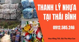 Thanh lý nhựa phế liệu tại Thái Bình