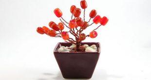 Hướng dẫn làm chậu hoa từ dây điện đồng cũ