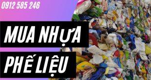 Thu mua, thanh lý Nhựa phế liệu tại Hà Nội
