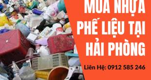 Thu mua, thanh lý Nhựa phế liệu tại Hải Phòng